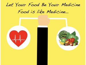 food is like medicine